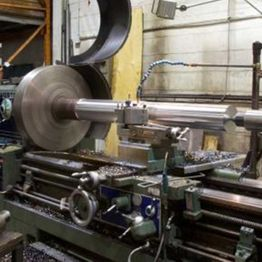 Shaft machining