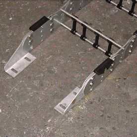 Mounting feet for power track.