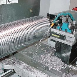 CNC Machining of Large ACME screw.